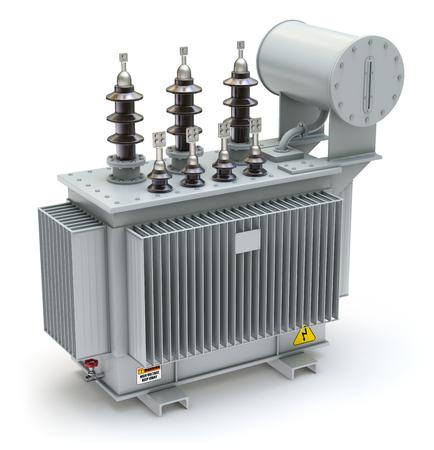 energia electrica: Transformador de potencia de alta tensi�n