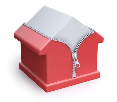 House thermal insulation concept