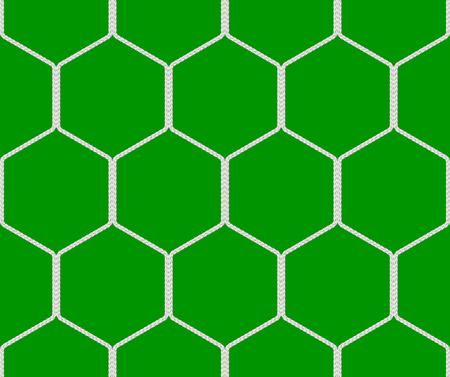 nets: Seamless  soccer goal net texture - 3D illustration Stock Photo