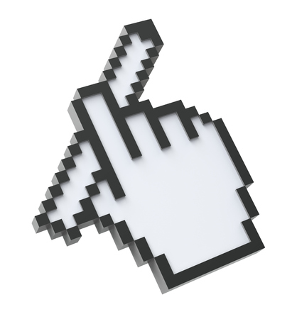 verifying: 3D Pixel cursor with the pencil