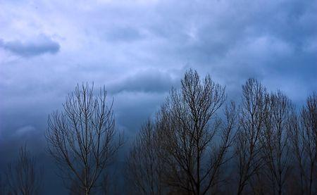nebbia: brutto tempo Stock Photo