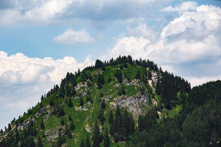 A Bavarian mountain landscape