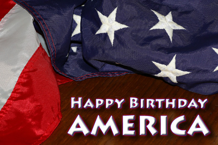 Happy Birthday USA: 4th of July Independence Day background