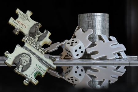 gamble: The gamble of hard assets going through the financial puzzle