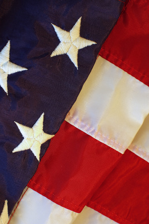 american flag background: Folded american flag background