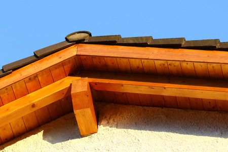 ceramic tiles: New roof top detail with ceramic tiles