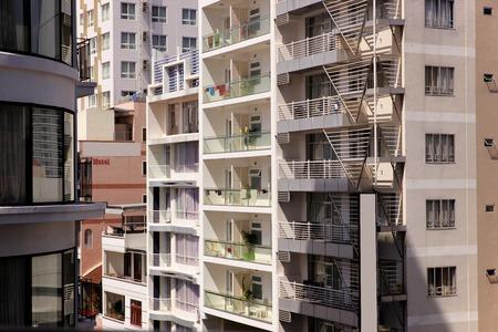 trang: Modern apartment buildings in Nha Trang, vietnam.