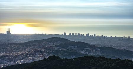 Panoramic city 版權商用圖片