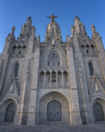 Expiatory Temple of the Sacred Heart of Jesus is a church located on the Tibidabo mountain, in Barcelona