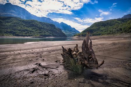 mountain landscape seen from the river Reklamní fotografie