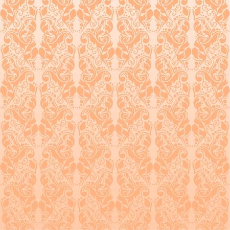 Seamless silky wallpaper, vector illustration