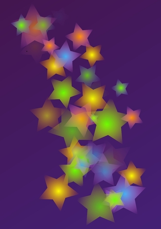 Abstract stars background Stock Vector - 7645893