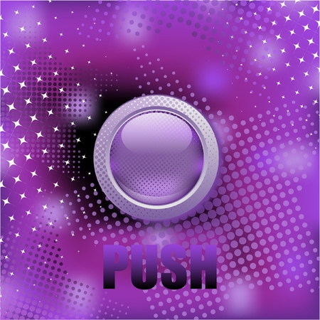 Abstract purple button's background Stock Vector - 8727793