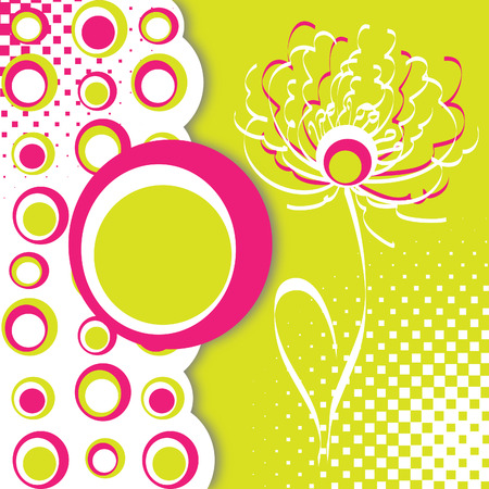 Floral card or background Stock Vector - 9101729
