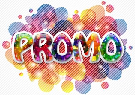 Promo background Stock Vector - 9806123