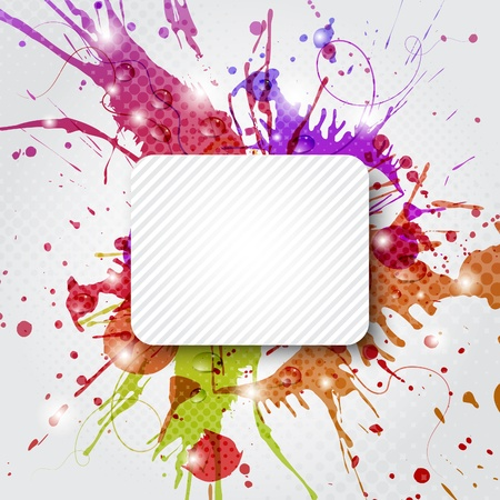 Abstract colorful background with copy space Stock Vector - 10030877