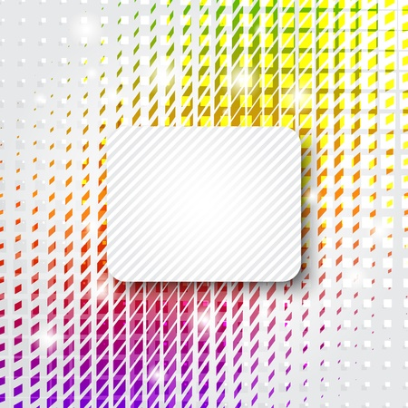 Abstract colorful background with copy space Stock Vector - 10030881