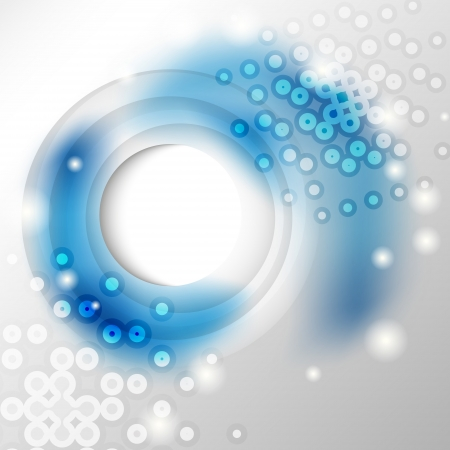shinning: Gray and blue abstract background with copy space Illustration