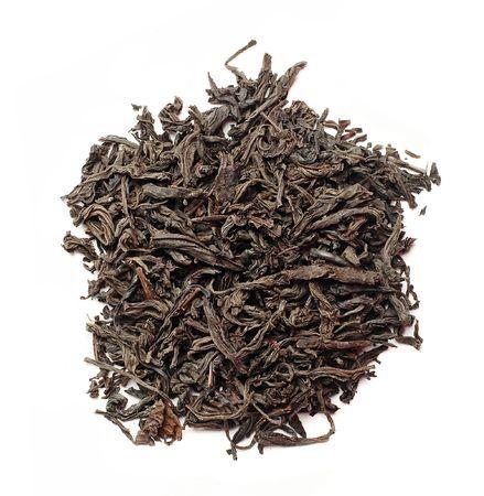 pekoe: Slide fragrant black tea (isolated)
