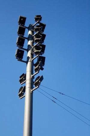 lantern on blue sky in dresden Stock Photo - 8010348