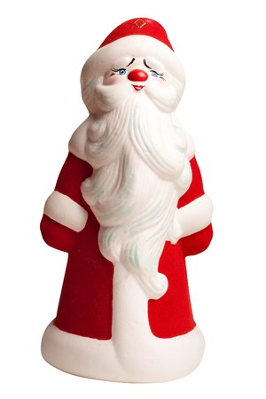 Santa Claus doll isolated on white background Stock Photo - 8181953