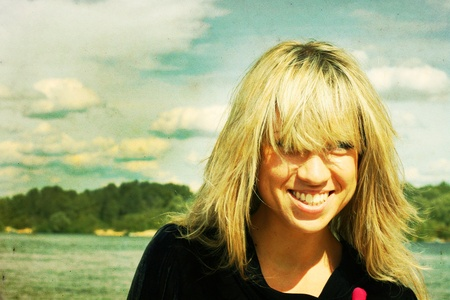 art photo of beauty blonde photo