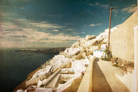 paisaje vintage: foto de cosecha Foto de archivo