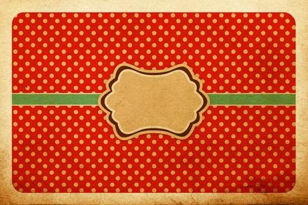 vintage stylish pattern, polka dot Stock Photo - 10042728