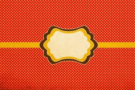 vintage stylish pattern, polka dot photo