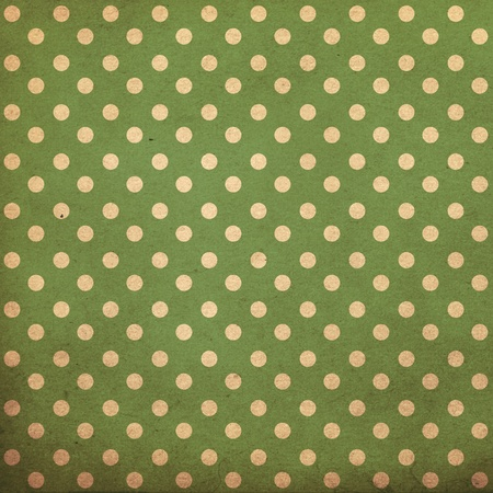 polka dot vintage pattern, green Stock Photo