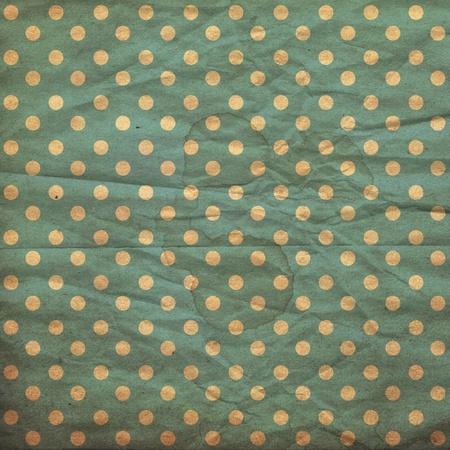 polka dot vintage pattern, BLUE Stock Photo - 10350229