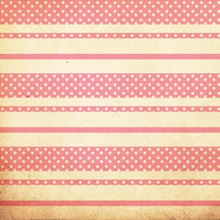vintage background from grunge paper, texture with retro pattern photo