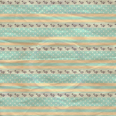vintage background from grunge paper, texture with retro pattern Stock Photo - 10449417