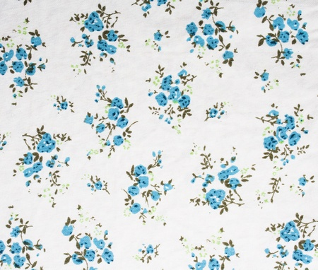 glamour fabric with flowers, photo