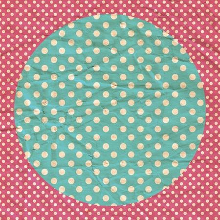 pin up vintage: vintage background dalla carta grunge, modello retro