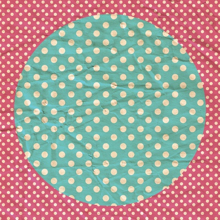 paper pin: vintage background from grunge paper, retro pattern