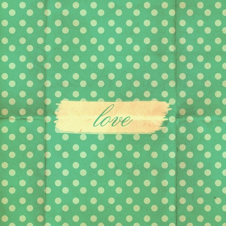 vintage background from grunge paper, retro pattern Stock Photo - 12631241