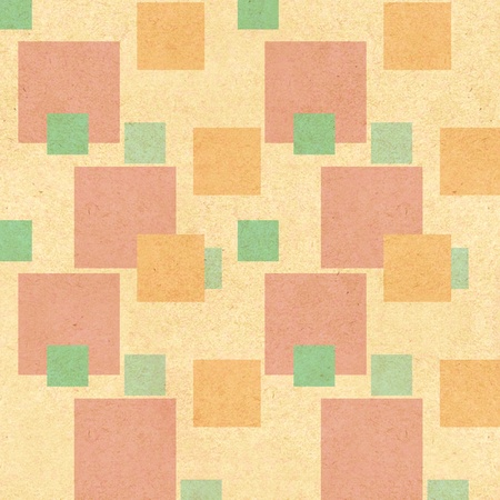 retro background with geometric shapes, vintage pattern photo
