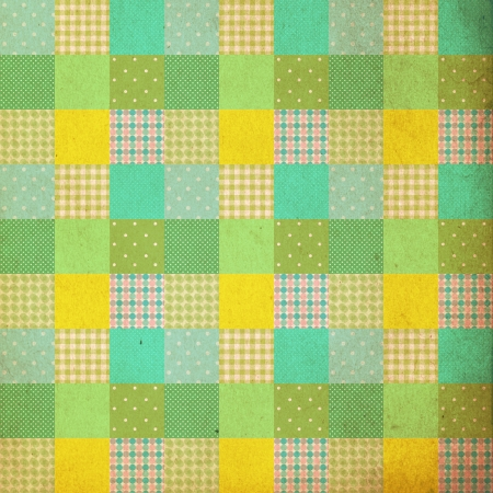 patches: vintage background, patchwork style, retro