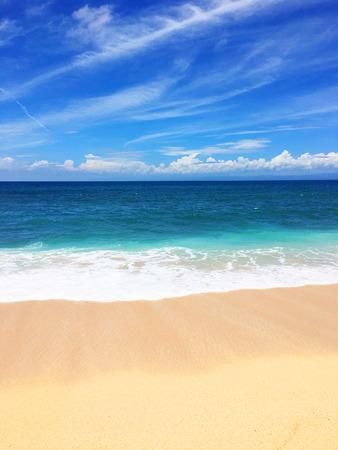 playas tropicales: foto colorida con Indonesia vacaciones, Bali Foto de archivo