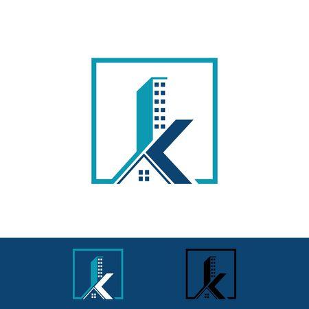 家と建物のロゴ