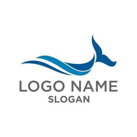 walvis golf symbool vector Stock Illustratie