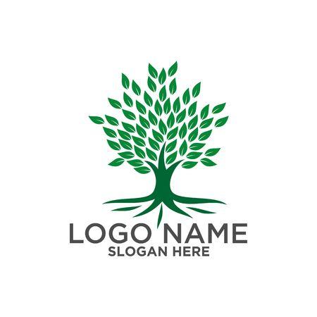 Nature green leaf symbol