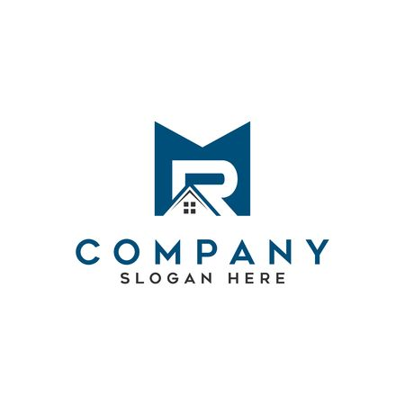 logo real estate letter