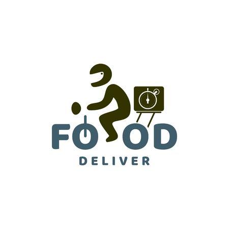 Logotipo de la entrega de alimentos