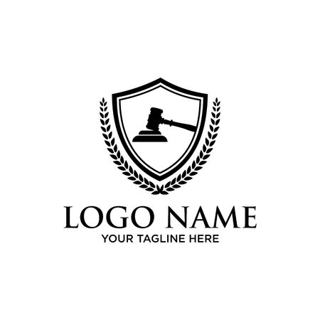 Law Firm logo,Law office logo,lawyer logo Stock Vector - 94601691