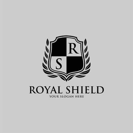 Luxury Logo template vector for Restaurant, Royalty, Boutique, Cafe, Hotel, Heraldic, Jewelry, Fashion and other vector illustration Imagens - 98014917
