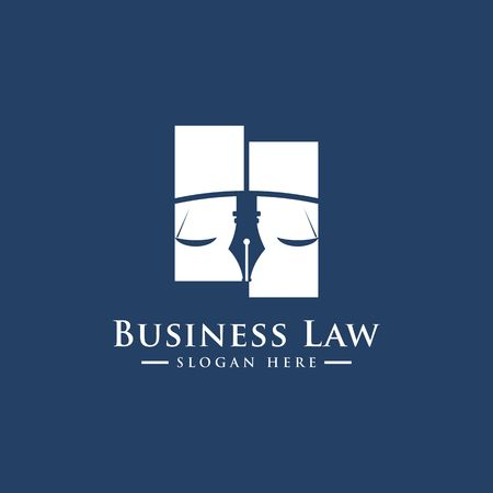 Luxury Law logo. Law Office. Lawyer services. Vector logo template Stock Vector - 97844842