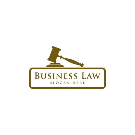 Luxury Law icon. Law Office. Lawyer services.