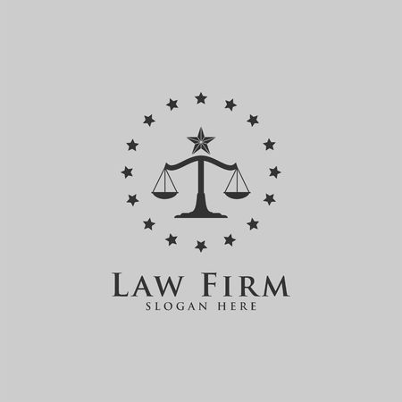 Luxury Law template. Law Office. Lawyer services.
